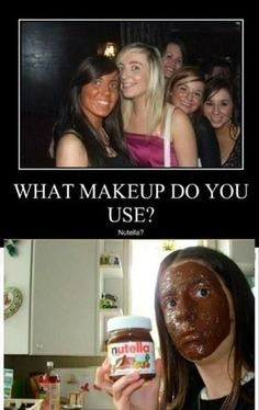 Hahaha. Iknow a few girls who could be in that picture..