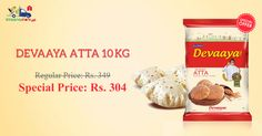 Checkout Devaaya Atta 10 Kg @ Special Price Only from Kiraanastore. Free Home Delivery, Easy Returns & COD Available.