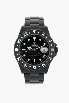BLACK LIMITED EDITION Matte Black Limited Edition Rolex GMT Master II