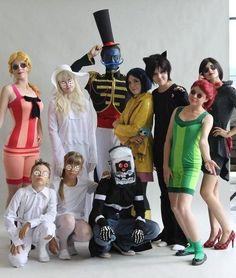 Coraline, Wybie & Coralines Andere Mutter Kostüm selber machen | Kostüm Idee zu Karneval, Halloween & Fasching