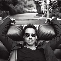 "Robert Downey Jr. He has been on my ""To Do"" list for many years....Iron Man happened and he jumped to priority #1. YUMMMM"