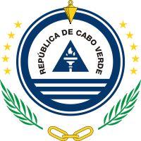 Brasão de armas de Cabo Verde. Coat of arms of Cape Verde.