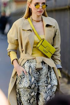Best Street Style Looks From Milan Fashion Week 2019  #springoutfit #springstyle #streetstyle Street Style Looks, Milan Fashion Weeks, Fall Outfits, Autumn Outfits, Fall Clothes, Fall Fashions