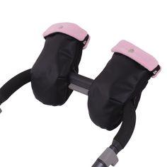 Manoplas Silla Paseo NAPA NE. Polar Rosa. Compatibles con todas las sillas de paseo.