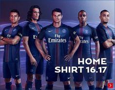 Presentada la camiseta titular del Paris Saint-Germain 2016-17