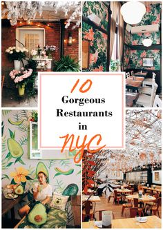 10 Gorgeous Restaurants in NYC There are so many fantastic restaurants in New York City, and some of them are absolutely stunning. Beautiful decoration often elevates the dining experience to the next level. New York City Vacation, New York City Travel, New York Trip, Thanksgiving Parade, Brooklyn Bridge, Central Park, Nyc Bucket List, Bucket Lists, New York Travel Guide