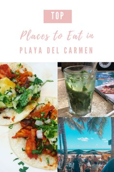 Here are my personal recommendations on the best places to eat in Playa del Carmen. There are so many places to try though! Top Place, The Good Place, Traditional Mexican Dishes, Truffle Fries, Small Meals, Fresh Seafood, Best Places To Eat, Foods To Eat, Cool Bars