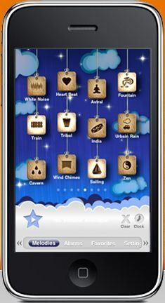 Relax Melodies- This app will lull your baby off to sleep. (Works on: iOS devices )