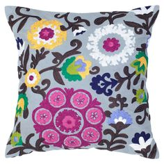 Trinidad Pillow - love the colors in this pillow!