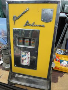 This Slot Machine goes up for Auction on August 17th @ 10 a.m. www.saltcityauctions.com