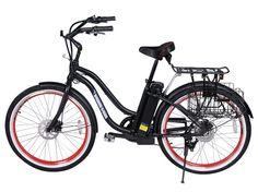 NEW 2015 Malibu Beach Cruiser Electric Bicycle