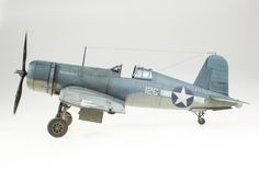 Tamiya 1:32 scale model F4U-1 Corsair by Matt McDougall aka Doogs'.