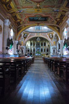 Betis Church, Pampanga, Philippines. Photo by Oliver Bautista via Flickr.