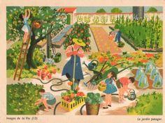 Images de la Vie (13) – Le jardin potager by Hélène Poirié