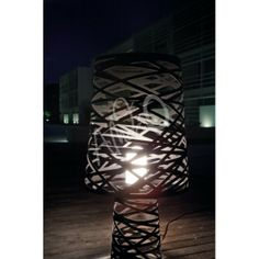 Lampe de Sol Extérieur Studio Italia Design Tornado Standing Big LT