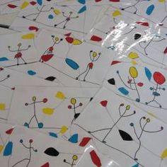 Les funambules de Calder