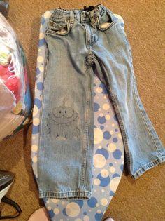 Om Nom jeans patch!