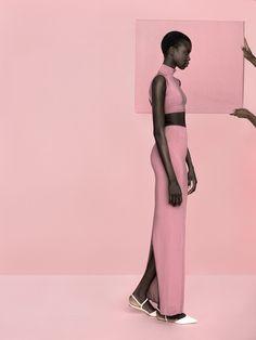 Model: Nykhor Paul | Photographer: Kasia Bielska - for The Lab Magazine.
