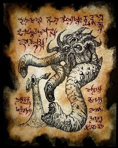 THING FROM BEYOND cthulhu larp necronomicon lovecraft occult horror