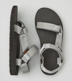 Grey Teva Original Universal Sandal