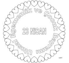 125 Best 23 Nisan Images Preschool Activities Child Day
