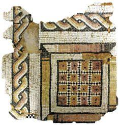 Mosaicos romanos en Calera y Chozas