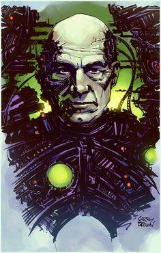 Star Trek: Locutus of Borg Star Trek Original Series, Star Trek Series, Patrick Stewart, Charles Xavier, Science Fiction, West Yorkshire, Akira, Star Trek Borg, Star Wars