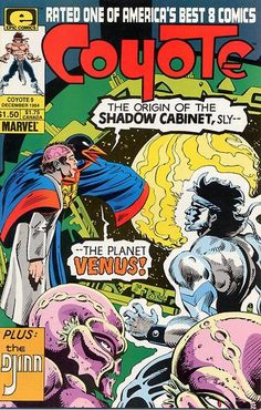 Cover for Coyote (Marvel, 1983 series) #9