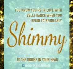 Shimmy to the drums in your head.