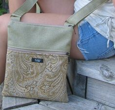 Upcycled XS textiles re-imagined and re-made into one of a kind eco-handbags by Echoes $65