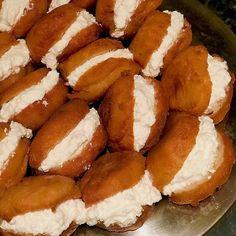 FITNESS cheesecake z ovsených vločiek bez cukru a múky! Healthy Cake, Healthy Sweets, Fitness Cake, Chia Puding, Pretzel Bites, Baking Recipes, Cheesecake, Good Food, Food And Drink