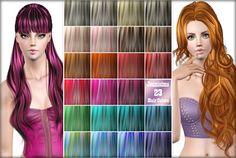 23 hair Color Palet Vol 3 by Jennisims - Sims 3 Downloads CC Caboodle