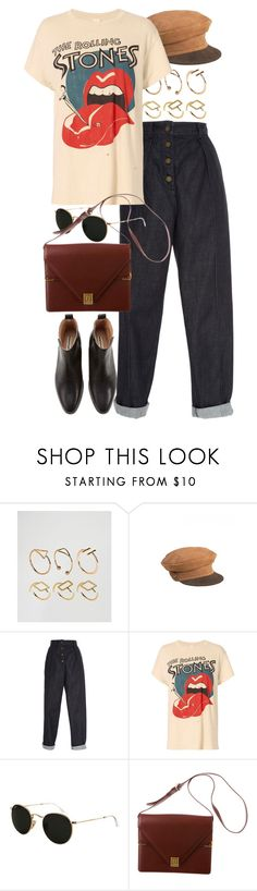 """Untitled #10961"" by nikka-phillips ❤ liked on Polyvore featuring ASOS, Zeynep Arçay, MadeWorn, Ray-Ban and Cartier"