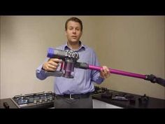 How to clean the Dyson V6 / DC59 Cordless Vacuum Cleaner - YouTube