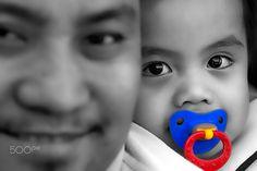 Father&Son - Portrait of little boy