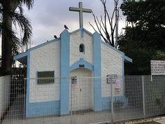 Old chapel at Vila Monumento Sao Paulo, Brazil