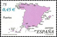 3855B Mapa de puertos