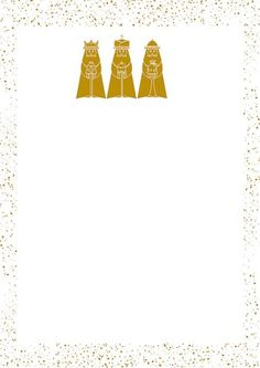 Carta Reyes Magos para descargar gratis, haz click en la imagen