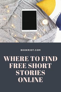 Whether you're looking to break a reading slump or prefer short form writing, we've got the deets on where you can find free short stories online. Teaching Short Stories, Short Fiction Stories, Short Stories To Read, Classic Short Stories, English Short Stories, Ap English, English Language, Language Arts, Popular Short Stories