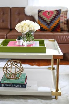 styling a coffee table 3 ways working with highfashionhome coffee table styling