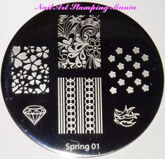 Nail Art Stamping Mania  Spring Set Stamping Plates Review and Swatches  http://nailartstampingmania.blogspot.it/search?updated-max=2014-08-15T22:32:00%2B02:00&max-results=1