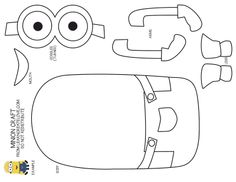 See 7 Best Images of Minion Cutouts Printable. Minion Coloring Pages Print Minion Eyes Template Printable Minion Goggles Minion Paper Cut Outs Printable Free Printable Minion Template Minion Theme, Minion Birthday, Minion Party, Birthday Board, Minion Room, Minion Halloween, Minion Template, Minion Pattern, Minion Printable