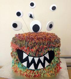 RAWR! Monster cake!