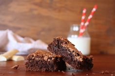 receta Brownies de chocolate