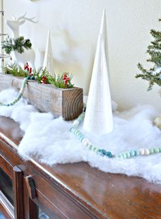 Beautiful Christmas Vignette