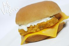 Filet-O-Fish-less  MsVegan version of the famous @mcdonalds Filet O Fish @gardein @followyrheart