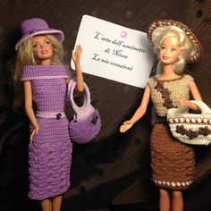 Crochet clothes for dolls