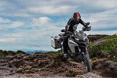 Meet The New 2016 Ducati Multistrada 1200 Enduro - Ducati of Tampa Bay Florida Moto Ducati, Ducati Enduro, Scrambler Sixty2, Moto Enduro, New Ducati, Ktm, Ducati Motorcycles, Motorcycles For Sale, Trail Motorcycle