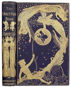 Vintage book :The Violet Fairy Book