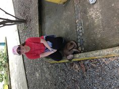 In one of the towns we visited there were monkeys that played in the park. We got to take pictures with the monkeys and also feed them.